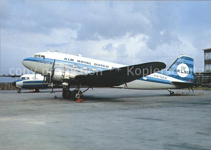 Flugzeuge Zivil KLM Royal Dutch Airlines Douglas C 74A PH DAW Kat. Flug