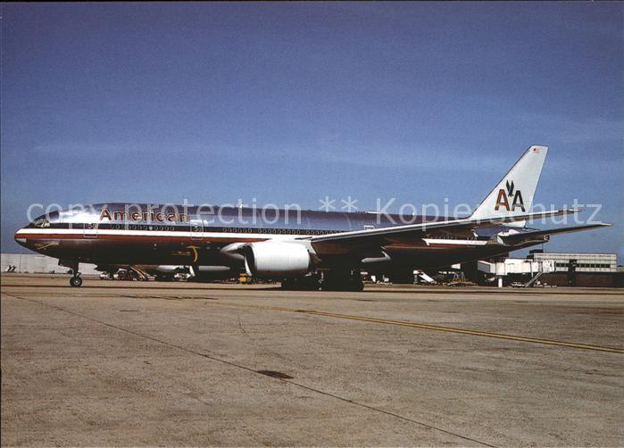 Flugzeuge Zivil American Airlines Boeing B 777 N773AN  Kat. Flug