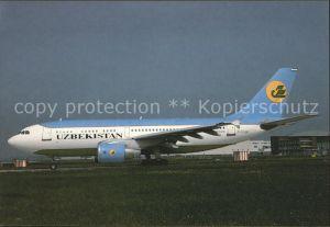 Flugzeuge Zivil Uzbekistan Airways A310 324 F OGQY c n 0574  Kat. Flug
