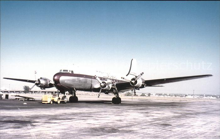 Flugzeuge Zivil American Flyers Airlines Douglas DC 4 Kat. Flug