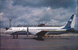 Flugzeuge Zivil Uzbekistan Airways IL 114 UK 91001 c n 101343823024 Kat. Flug