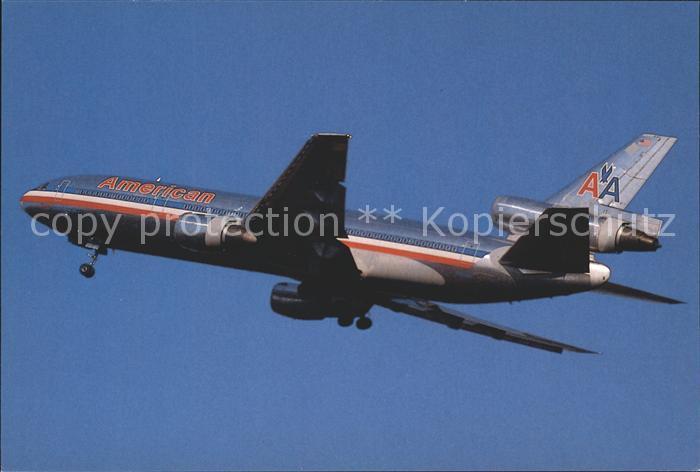 Flugzeuge Zivil American Airlines McDonnell Douglas DC 10 30 Kat. Flug
