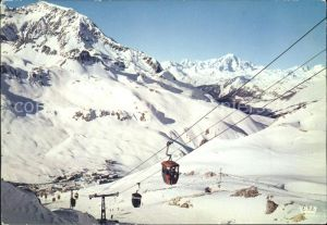 Seilbahn Toviere Sache Mont Blanc Tignes Savoie / Bahnen /