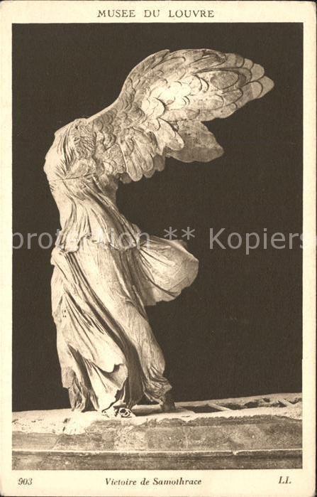 Skulpturen Victoire de Samothrace Kat. Skulpturen