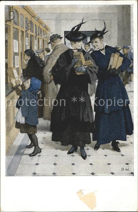 Wennerberg Brynolf Kriegspostkarte Nr. 15 Liebesgaben Kat. Kuenstlerkarte