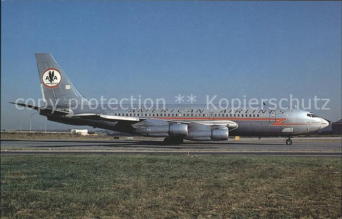 Flugzeuge Zivil American Airlines Boeing 720 023B