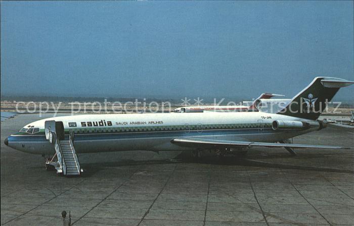 Flugzeuge Zivil Saudia Saudi Arabian Airlines Boeing 727 2H3 TS JHN