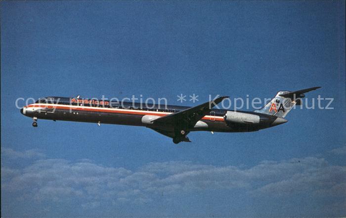 Flugzeuge Zivil American Airlines Super 80