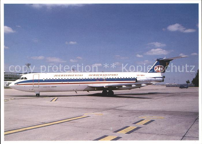 Flugzeuge Zivil JAT Jugoslovenski Aerotransport RomBac 1 11 561RC YR BRA cn 401