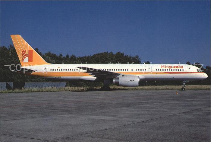 Flugzeuge Zivil Hispania Boeing 757 23A N510EP EC EMU c n 24290 212