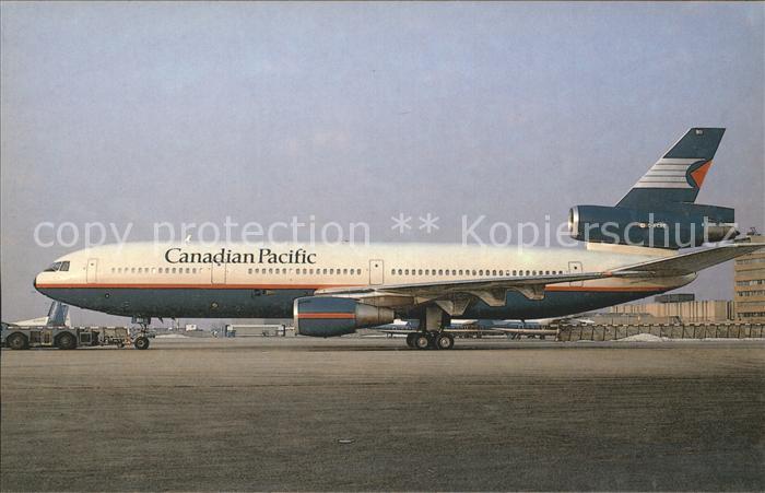 Flugzeuge Zivil Canadian Pacific Air Lines McD Douglas DC 10 30 C FCRE c n 47868 Kat. Airplanes Avions