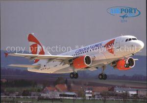Flugzeuge Zivil Czech Airlines A319 112 OK PET  Kat. Airplanes Avions