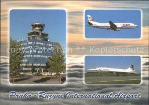 Airport Aeroporto Flughafen Prag International Airport  Kat. Flug