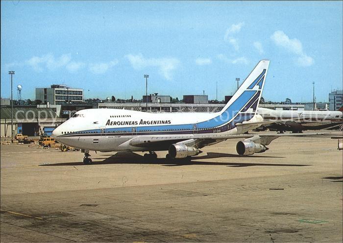 Flugzeuge Zivil Aerolineas Argentinas Boeing 747 SP27 Kat. Airplanes Avions