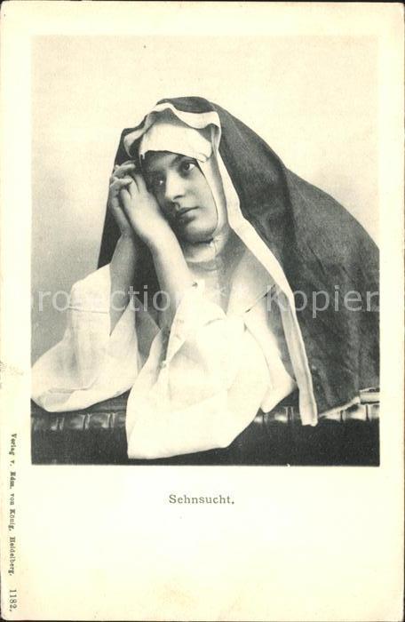 Nonnen Sehnsucht  Kat. Religion