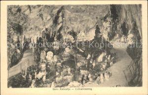 Hoehlen Caves Grottes Gora Kalvarlja Calvarienberg Adelsberger Grotte  Kat. Berge