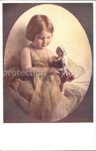 Puppen Kind Kuenstlerkarte Manasse Nr. 304 1 Kat. Spielzeug