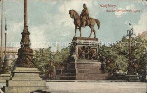 Denkmal Hamburg Kaiser Wilhelm-Denkmal / Denkmaeler /