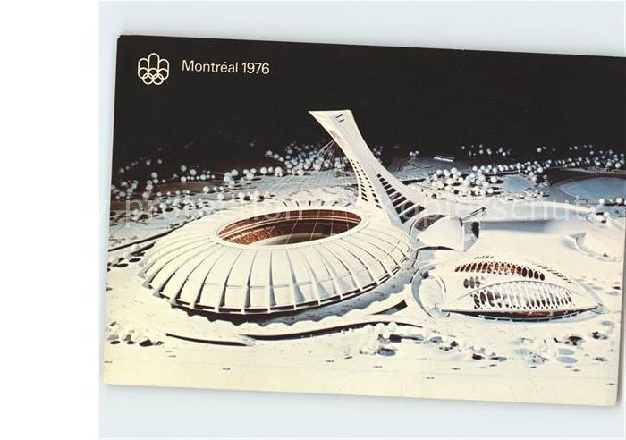 Olympia Montreal Maquette du parc olympique  Kat. Sport