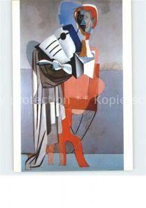 Kuenstlerkarte Salvador Dali Homenatge a Eric Satie Kat. Kuenstlerkarte