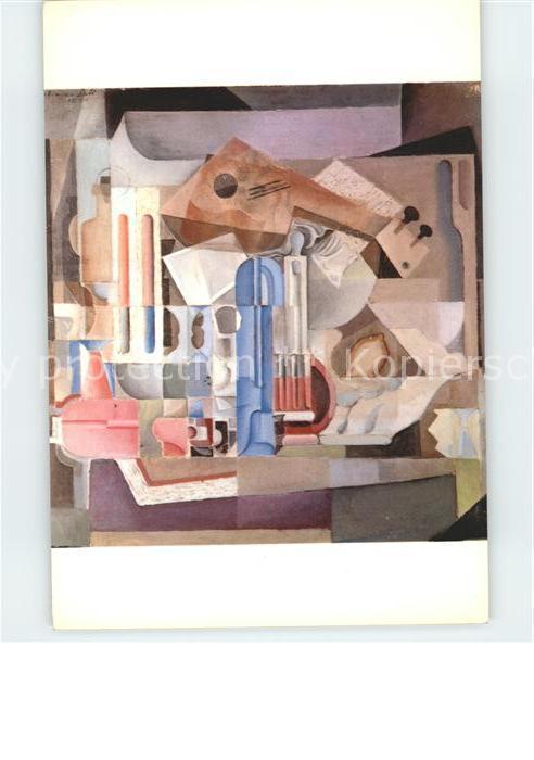 Kuenstlerkarte Salvador Dali Naturalesa Cristallina  Kat. Kuenstlerkarte