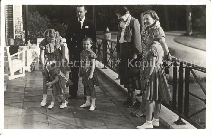 Adel Niederlande Koenigliche Familie Roosevelt Paleis Soestdijk Kat. Koenigshaeuser