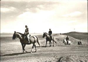 Pferde Reiter am Strand  Kat. Tiere
