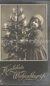 Kinder Child Enfants Weihnachtsbaum Weihnachten  Kat. Kinder