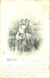 Kinder Child Enfants Mutter Trachten Windmuehle  Kat. Kinder