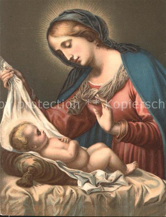 Religion Kuenstlerkarte Carlo Dolci Madonna del Velo Kat. Religion