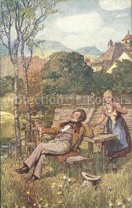 Verlag Wiener Kunst Nr. 2078 Schubert Franz Gareis Kat. Verlage