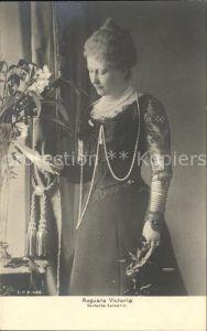 Auguste Victoria Kaiserin  Kat. Adel Preussen