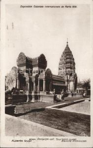 Exposition Coloniale Paris 1931 Angkor Vat  Kat. Expositions