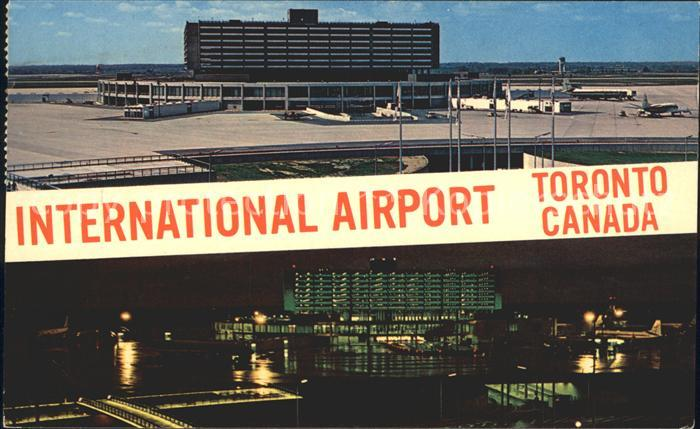 Flughafen Airport Aeroporto Toronto International Airport New Aeroquay  Kat. Flug