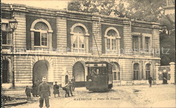 Strassenbahn Maubeuge Porte de France  Kat. Strassenbahn