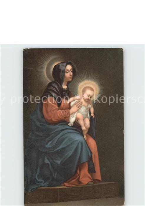 Religion La Vierge avec l enfant Jesus Carlo Dolci  Kat. Religion
