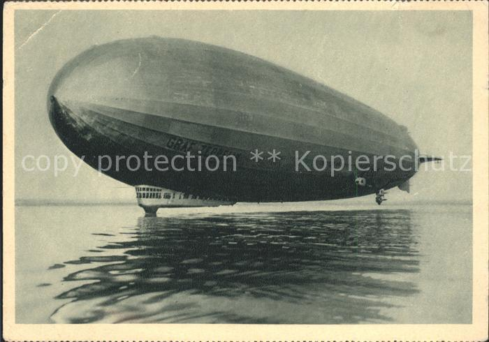 Zeppelin Graf Zeppelin Kat. Flug