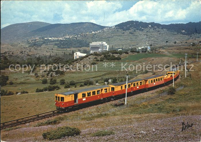 Eisenbahn Petit Train Sang et Or Villefranche Latour de Carol Kat. Eisenbahn