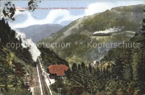 Eisenbahn Schwarzwaldbahn Haldentunnel Seelenwaldkurve  / Eisenbahn /