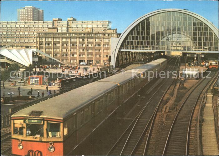 Eisenbahn Berlin S Bahnhof Alexanderplatz Kat. Eisenbahn