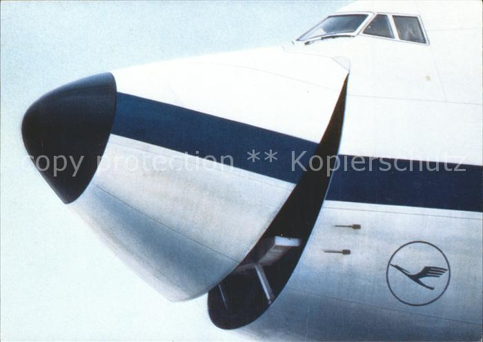 Lufthansa Flugzeug Kat. Flug