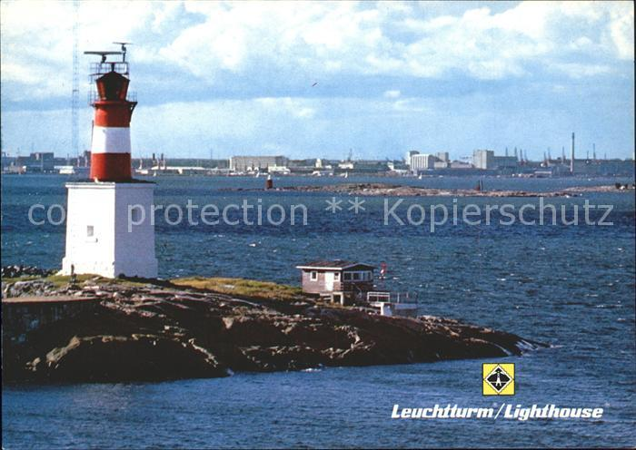Leuchtturm Lighthouse Helsinki Finnland  Kat. Gebaeude