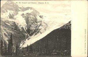 Gletscher Mount Sir Donald Glacier  Kat. Berge