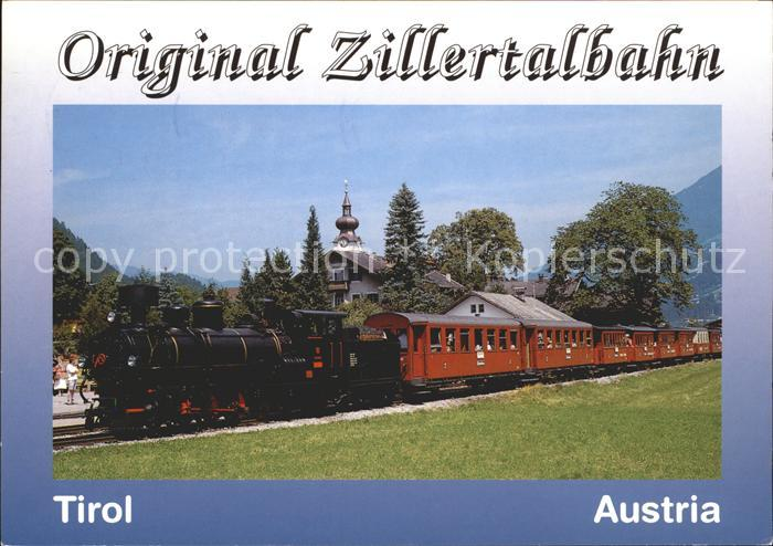 Eisenbahn Zillertalbahn Lokomotive Kat. Eisenbahn