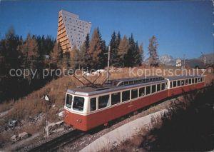 Eisenbahn Vysoke Tatry Hohe Tatra Hotel Panorama Strbskom Plese  Kat. Eisenbahn