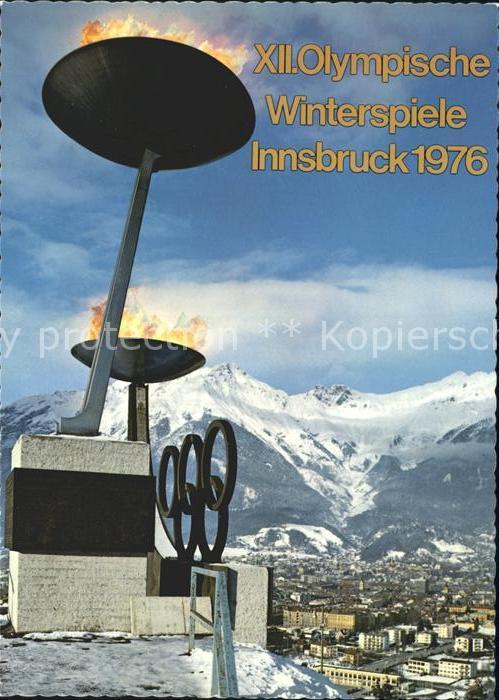 Olympia XII. Olympische Winterspiele Innsbruck  Kat. Sport
