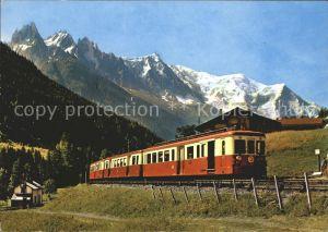 Eisenbahn Le Fayet Martigny Chamonix Mont Blanc  Kat. Eisenbahn