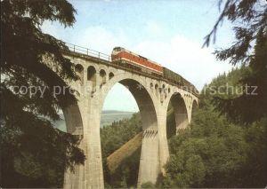 Eisenbahn Viadukt Thueringen Kat. Eisenbahn