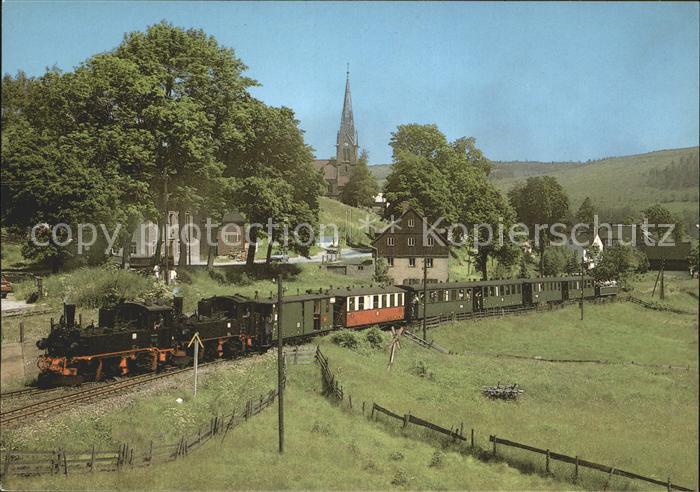 Eisenbahn Radebeul Traditionszug Hammerunterwiesenthal  Kat. Eisenbahn