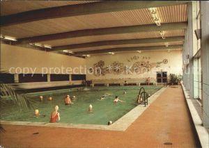 Schwimmbad Schwimmhalle Oberwiesenthal Erholungsheim IG Wismut  Kat. Gebaeude